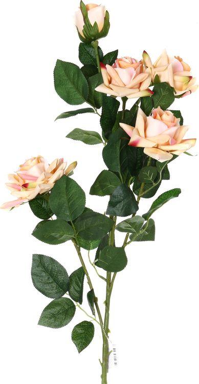 Искусственные цветы Lefard Роза, 23-253, 110 х 10 х 10 см цена