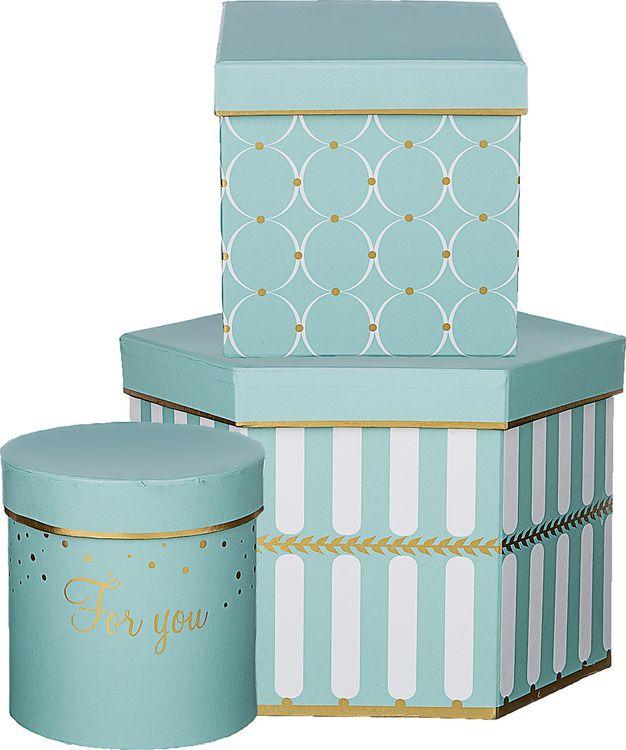 Набор подарочных коробок Lefard Узор, 37-507, 3 шт набор подарочных коробок veld co розовая графика 15 шт