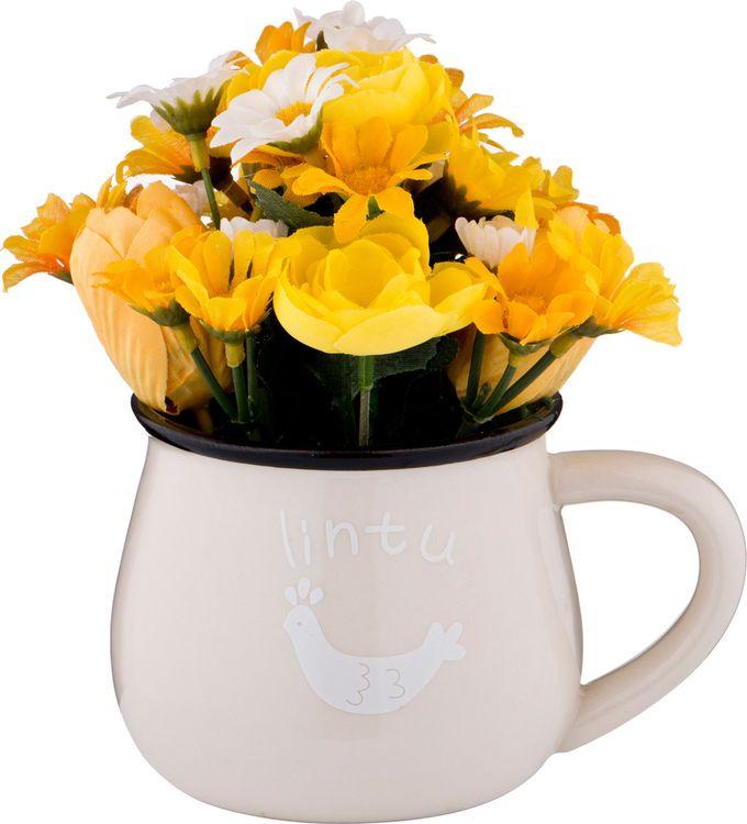 Искусственные цветы Lefard Цветы, 70-553, 13 х 8 х 15 см