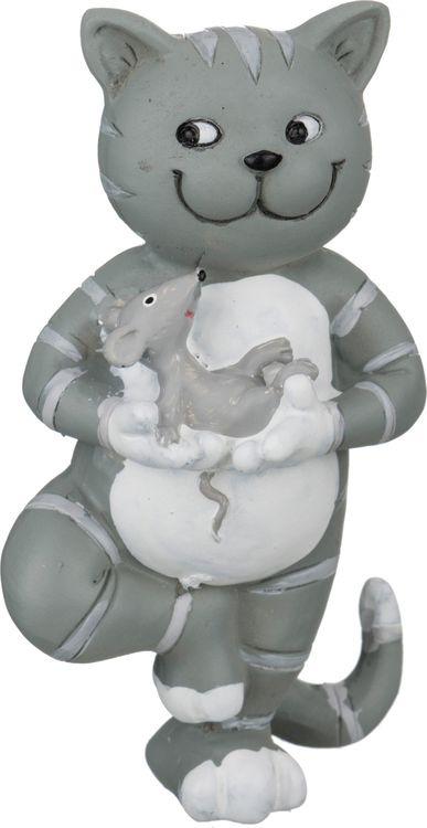 Фигурка декоративная Lefard Йога-кот, 162-317, 4 х 6 х 10 см фигурка декоративная crystocraft петух 4 2 3 1 6 3 см серебро