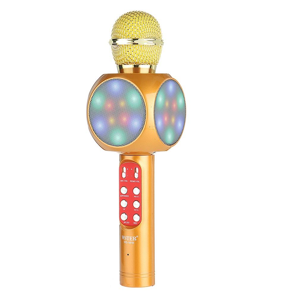 Микрофон WESTER Ws1816G, золотой цены