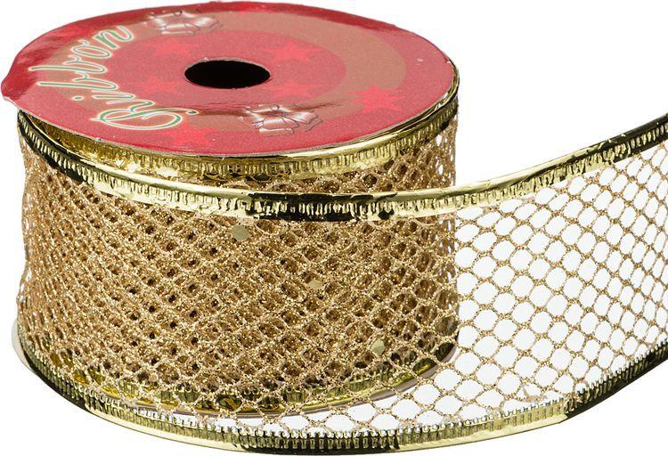 Лента декоративная Lefard, 242-378, 4 см х 2,7 м