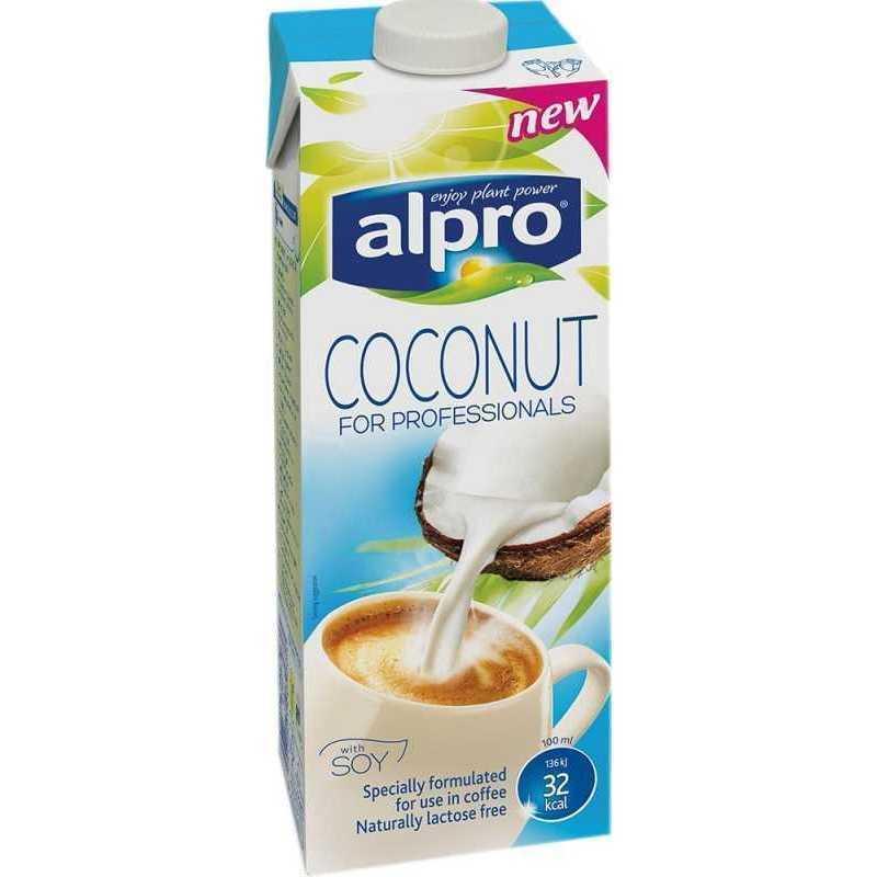 Напиток кокосовый с соей обогащенный кальцием и витаминами Professionals ALPRO 1л