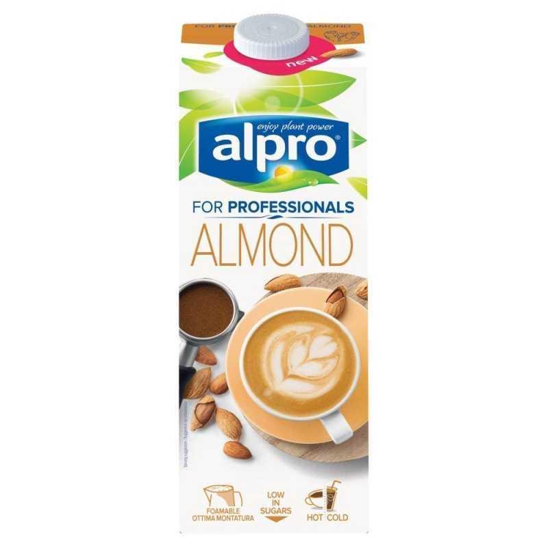 Напиток миндальный обогащенный кальцием Professionals ALPRO, 1л