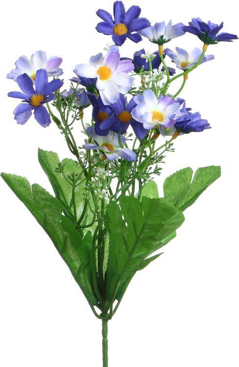 Искусственные цветы Lefard Полевой цветок, 23-307, 6 х 6 х 34 см блюдо шубница lefard полевой цветок 25 х 17 см k2126 10sq