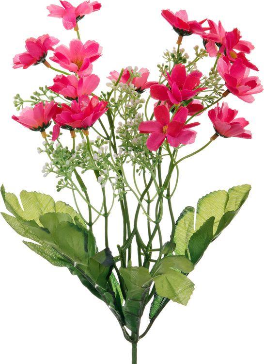 Искусственные цветы Lefard Полевой цветок, 23-308, 6 х 6 х 35 см блюдо шубница lefard полевой цветок 25 х 17 см k2126 10sq