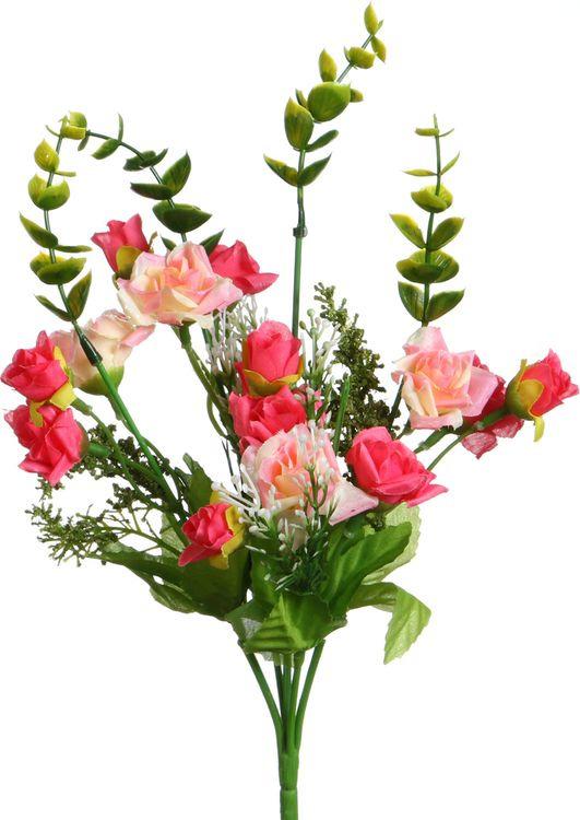 Искусственные цветы Lefard Чайная роза, 23-319, 5 х 5 х 31 см стоимость