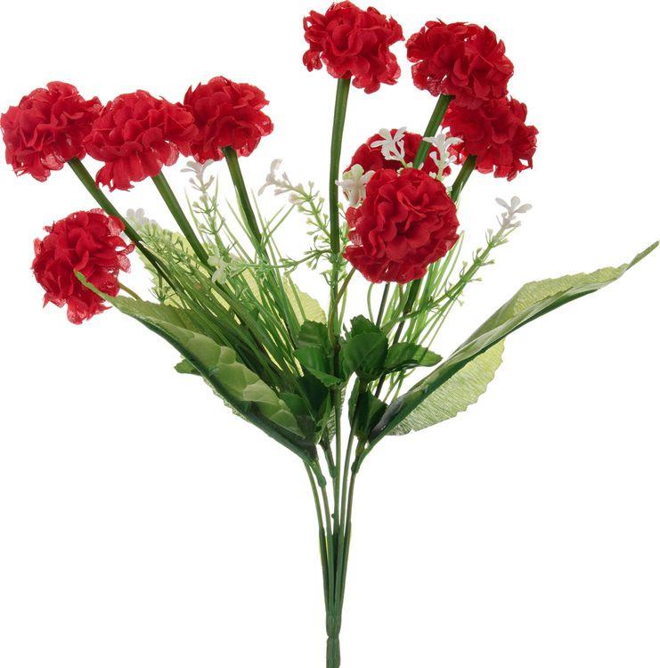 Искусственные цветы Lefard Гортензия, 23-321, 34 х 5 х 2 см
