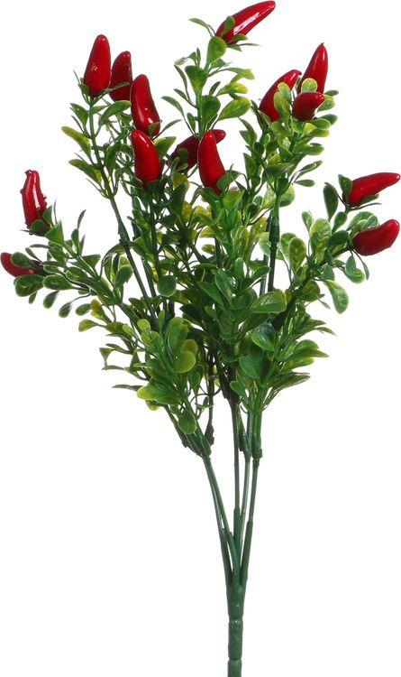 Искусственные цветы Lefard Перчик, 23-337, 6 х 6 х 30 см цена