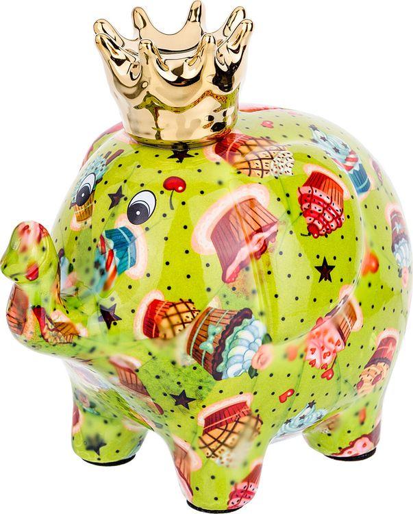 цены на Копилка Lefard Слон, 737-094, 23 х 12 х 14 см  в интернет-магазинах