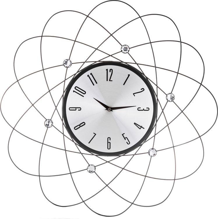 Настенные часы Lefard, кварцевые, 764-026, 56 х 56 х 3 см настенные часы lefard 764 018 электронные серебристый диаметр 48 см