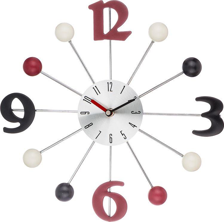 Настенные часы Lefard, кварцевые, 764-035, 32,5 х 32,5 х 4 см настенные часы lefard 764 018 электронные серебристый диаметр 48 см