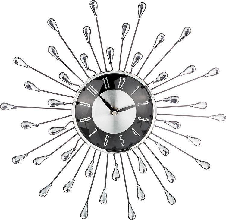 Настенные часы Lefard, кварцевые, 764-043, 36 х 36 х 6,5 см настенные часы lefard 764 018 электронные серебристый диаметр 48 см