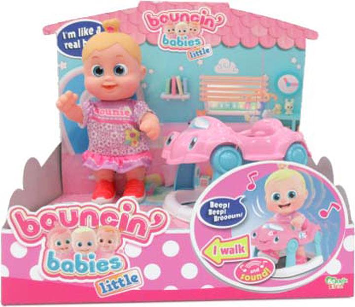 Кукла Bouncin' Babies Бони с машиной, 803001 цена