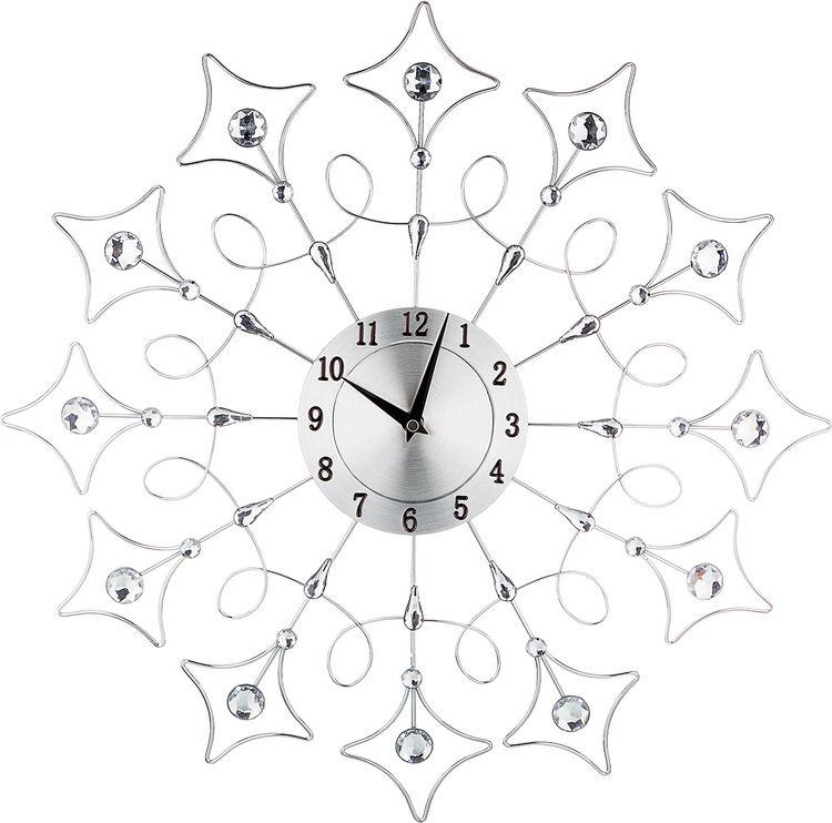 Настенные часы Lefard, кварцевые, 764-045, 50 х 50 х 4 см настенные часы lefard 764 018 электронные серебристый диаметр 48 см
