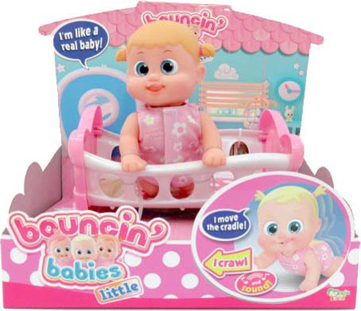 Кукла Bouncin' Babies Бони с кроваткой, 803002 цена