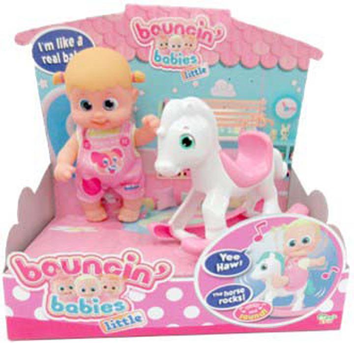 Кукла Bouncin' Babies Бони с лошадкой-качалкой, 803003 набор baby secrets с лошадкой качалкой