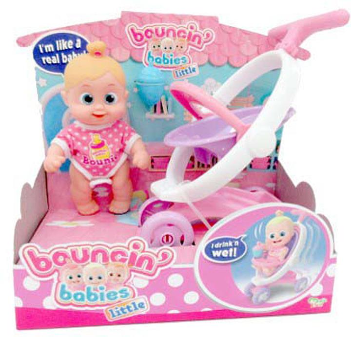 Кукла Bouncin' Babies Бони с коляской, 803004 цена
