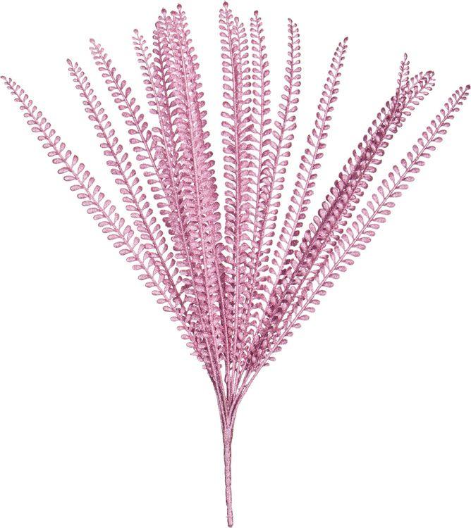 Искусственные цветы Lefard Ветка, 241-2059, 50 х 3 х 3 см шар ветка 80мм стекло розовый