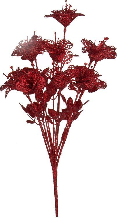 Искусственные цветы Lefard Букет лилий, 241-2143, 40 х 8 см