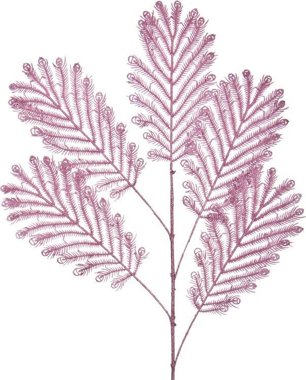 Искусственные цветы Lefard Ветка, 241-2265, 60 х 20 х 1 см шар ветка 80мм стекло розовый