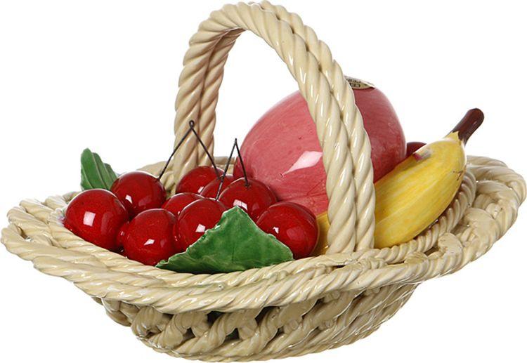 Картинка корзина с фруктами для детей