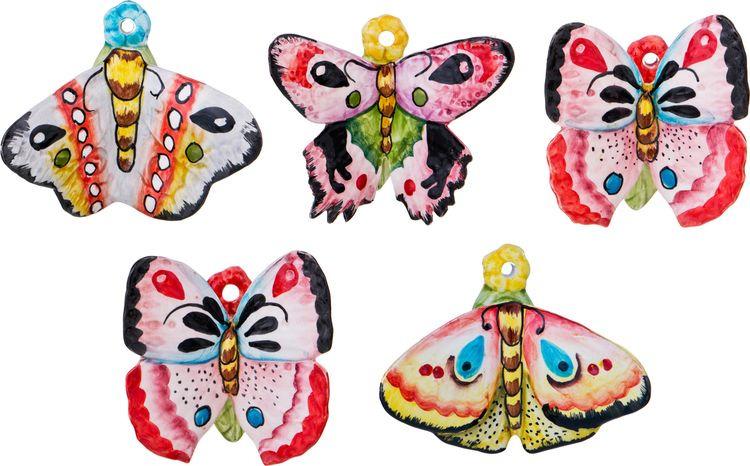 Панно Lefard Бабочка, 628-648, 10,5 х 10,5 х 8 см украшение декоративное village people тропическая бабочка с магнитом в ассортименте 11 5 х 9 х 5 см 2 шт 69028
