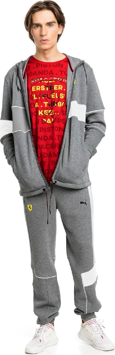 Брюки PUMA SF Sweat Pants брюки мужские puma ess sweat pants tr op цвет серый 838373031 размер xxl 52 54