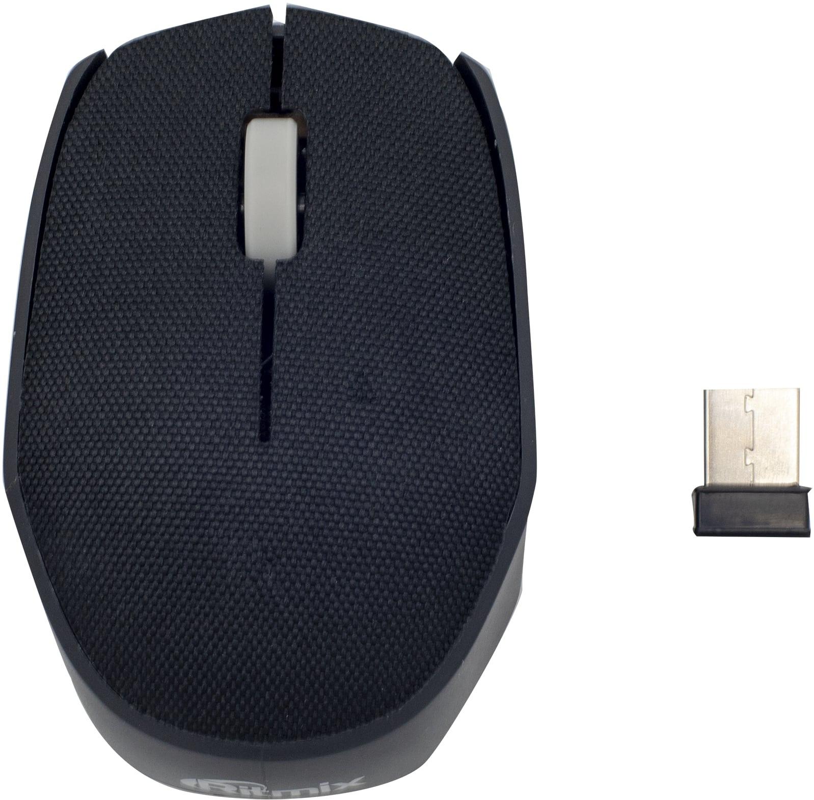 лучшая цена Мышь беспроводная Ritmix RMW-611, черный