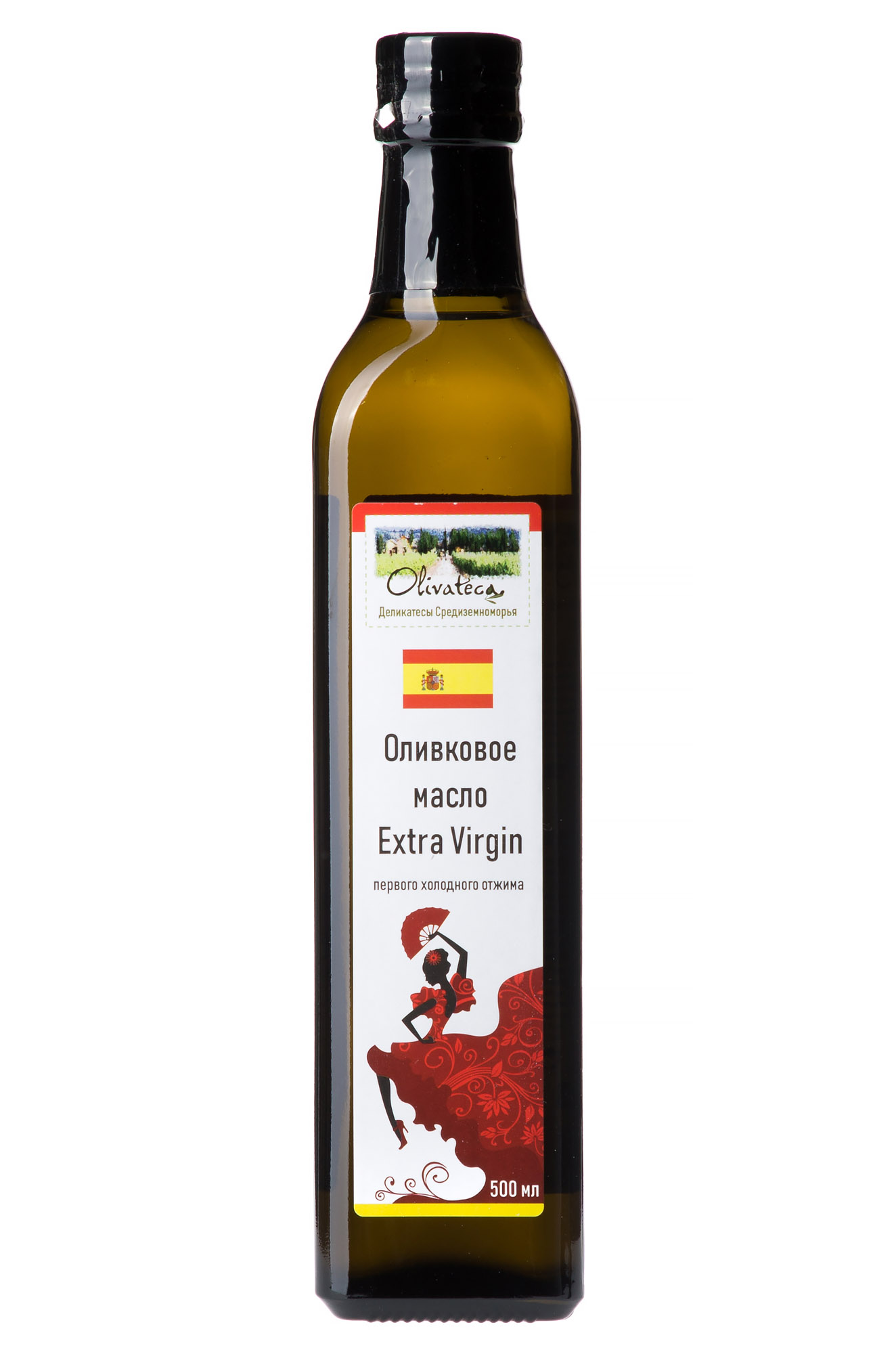 Оливковое масло OLIVATECA Масло оливковое Extra Virgin 500 мл just greece premium extra virgin оливковое масло 500 мл