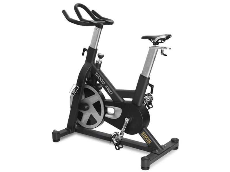 Велотренажер Bronze Gym S1000 PRO, черный, серебристый