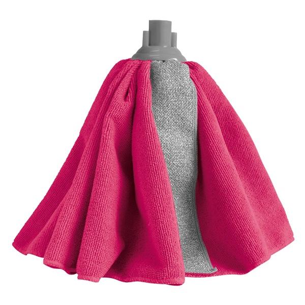 Насадка на швабру York 680-077080680-077080Инновационный чистящий материал в форме юбки обеспечивает удобство уборки и мгновенный эффект чистого пола. Благодаря уникальной форме насадки повышается эффективность уборки. Прорезиненный зажим защищает мебель от царапин и повреждений. Максимальный эффект, даже без использования моющих средств.