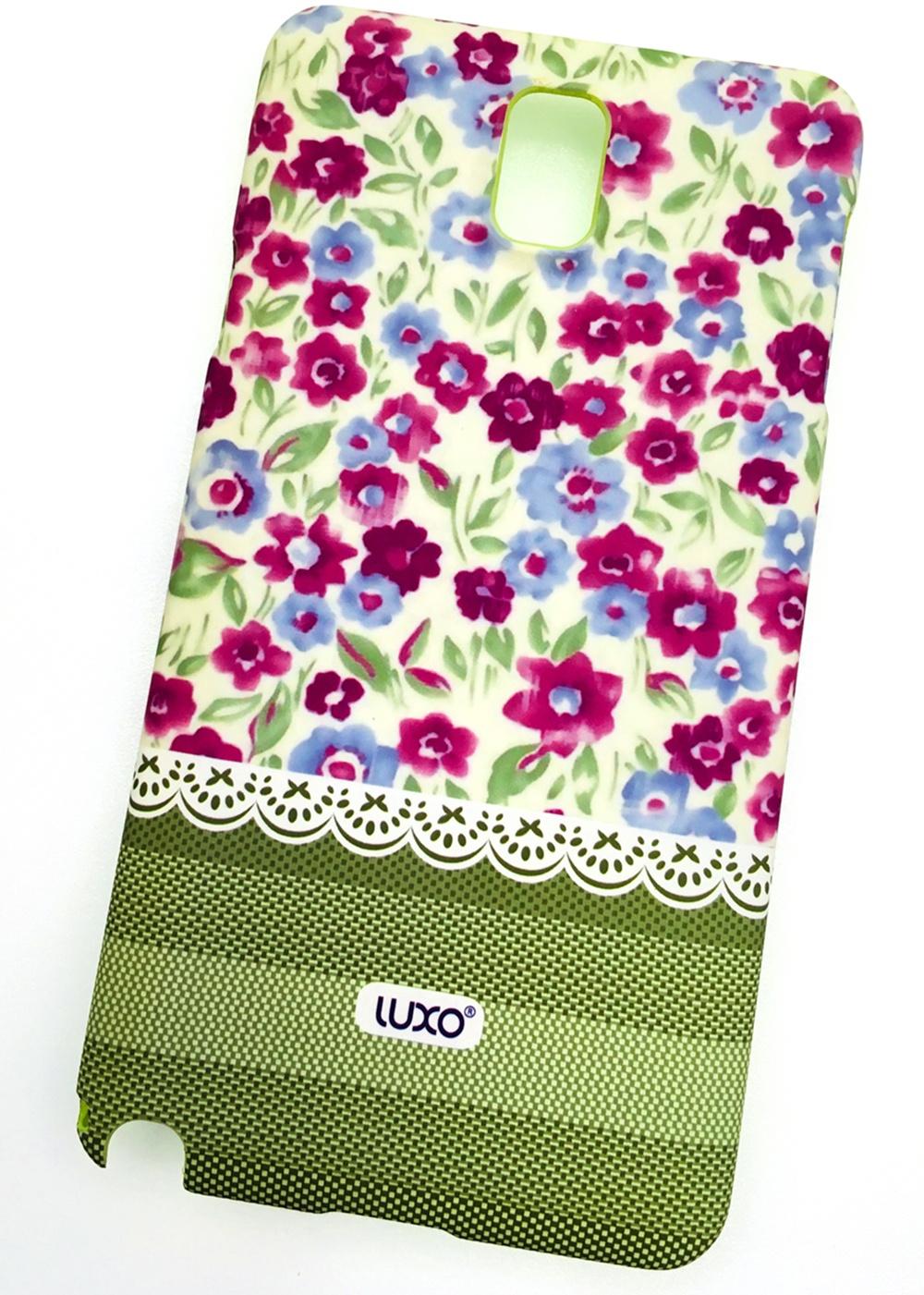 """Чехол для сотового телефона Мобильная мода Samsung Galaxy Note 3 Накладка пластиковая, нескользящее покрытие, """"LUXO"""", розовый"""