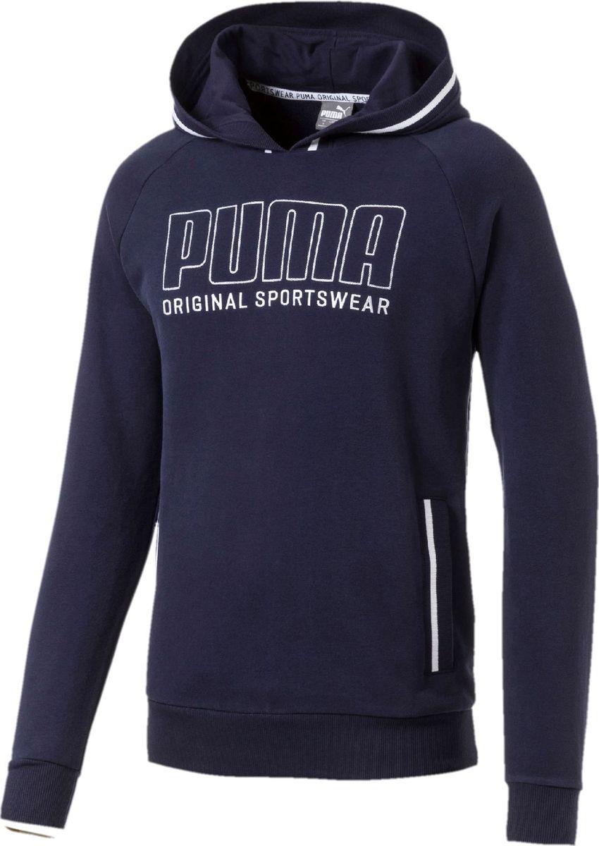 Худи PUMA Athletics Hoody худи мужское puma arsenal fc fan cannon hoody цвет красный 75266401 размер xxl 52 54