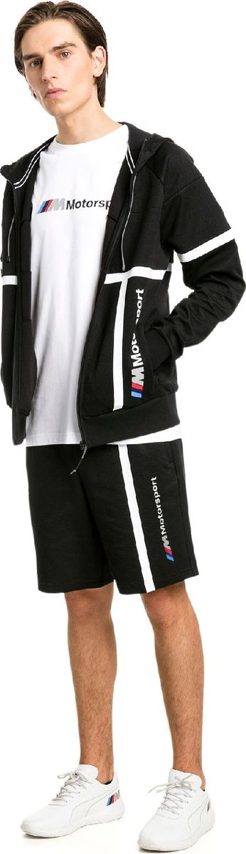 Шорты PUMA Bmw Mms Sweat Shorts puma шорты style puma shorts