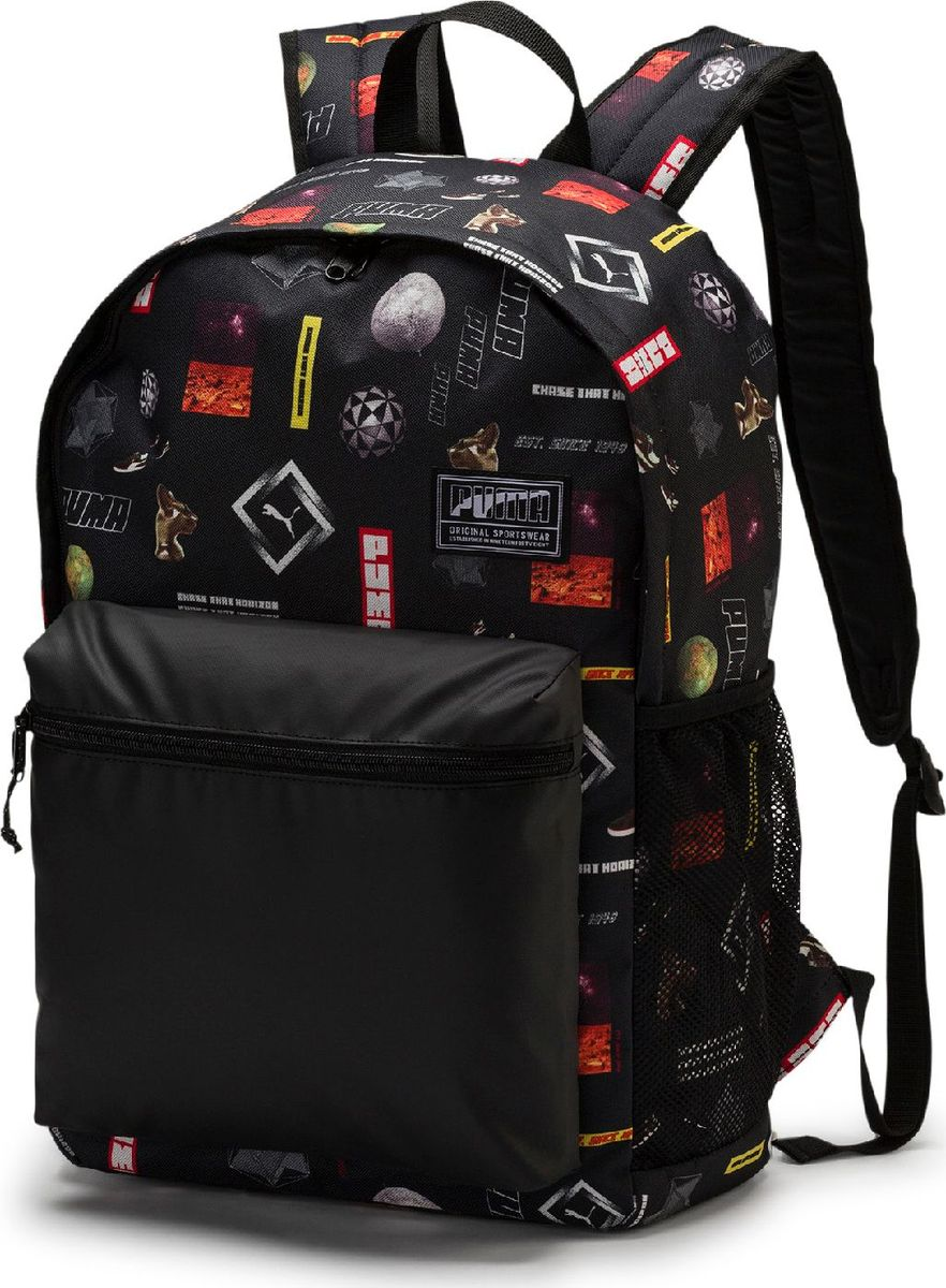 Рюкзак Puma Academy Backpack, 07573304, черный рюкзак adidas harden backpack dw4716 черный