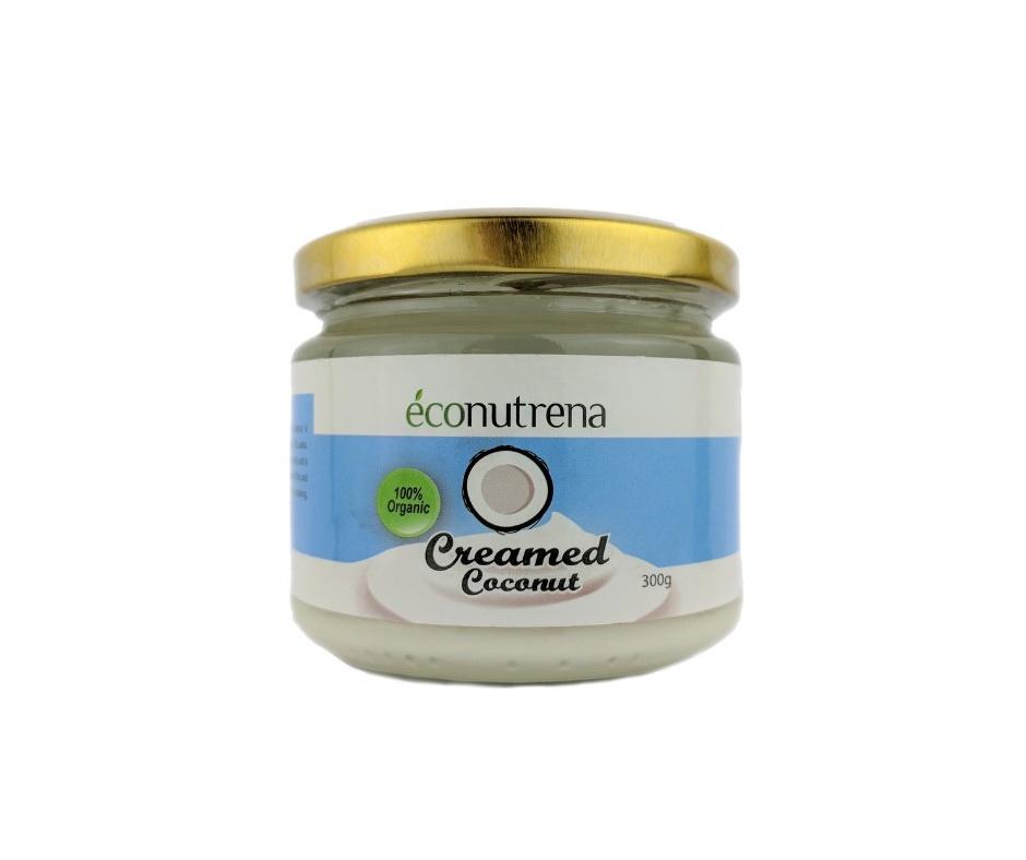 Ореховый крем Econutrena KKR300, Натуральный кокос, 300