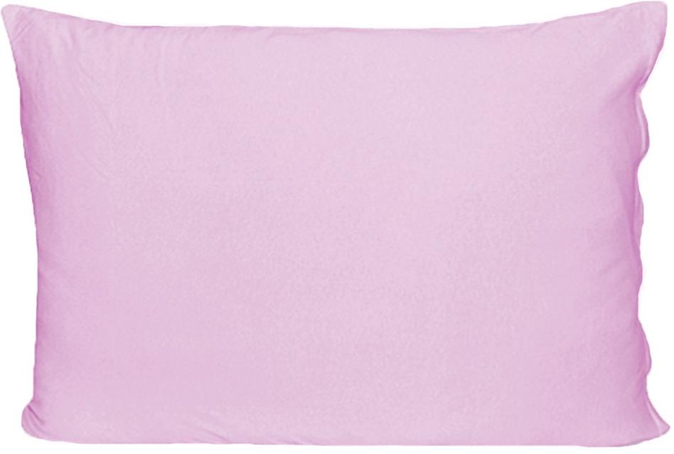 Наволочка Cleo, на молнии, 70/3, светло-розовый, 70 х 70 см, 2 шт