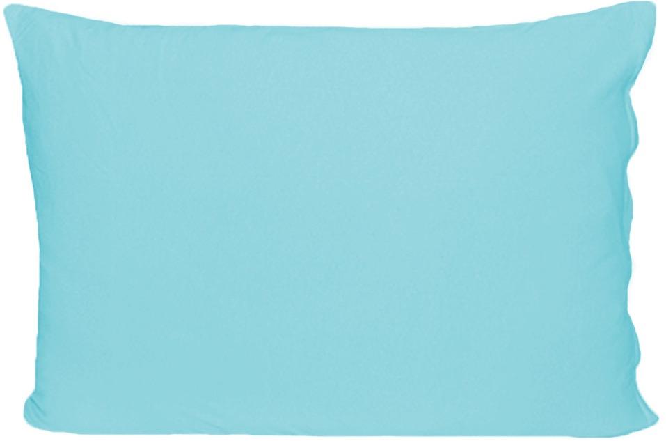 Наволочка Cleo, на молнии, 057/012, бирюзовый, 50 х 70 см, 2 шт