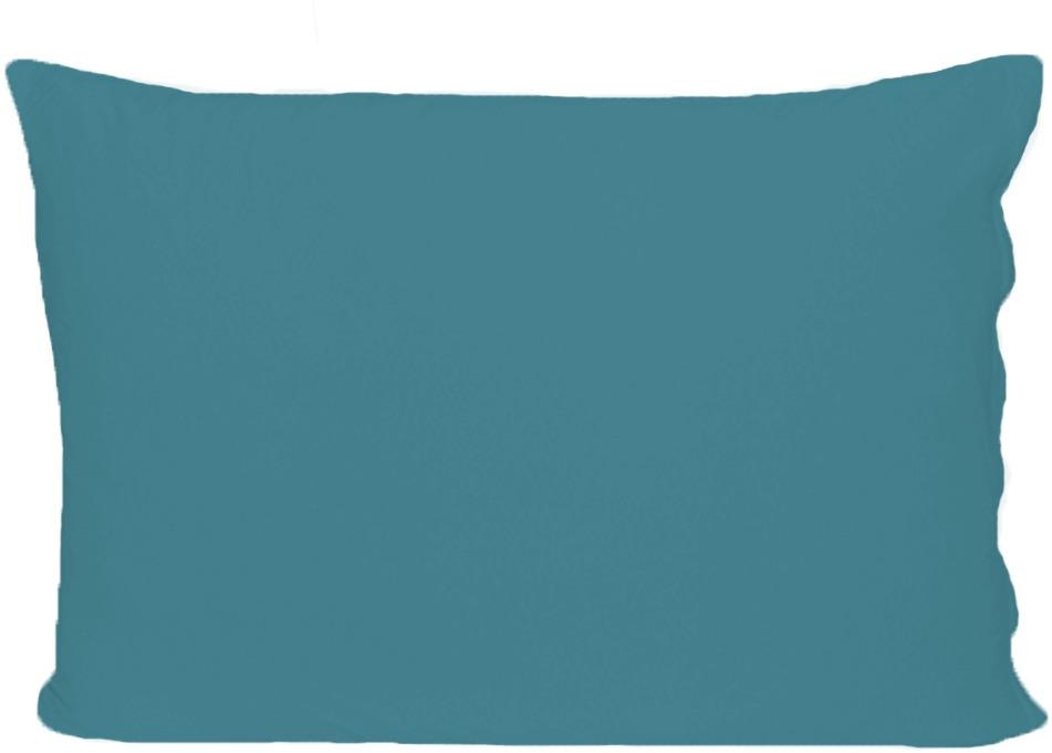Наволочка Cleo, на молнии, 70/19, бирюзовый, 70 х 70 см, 2 шт