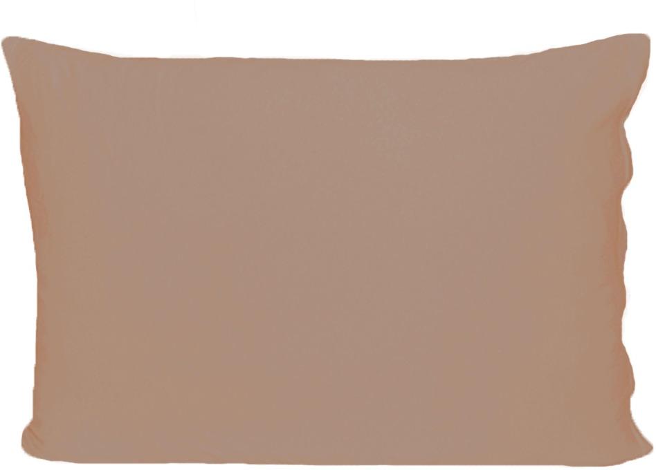 Наволочка Cleo, на молнии, 070/016, шоколадный, 70 х 70 см, 2 шт