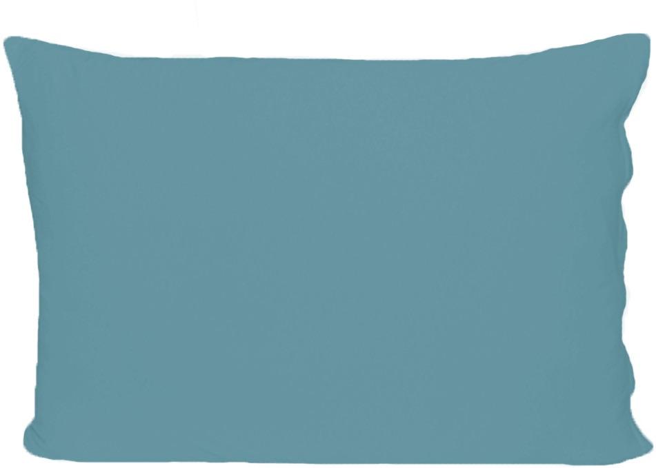 Наволочка Cleo, на молнии, 70/18, лагуна, 70 х 70 см, 2 шт
