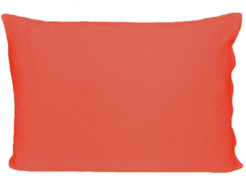 Наволочка Cleo, на молнии, 057/011, коралловый, 50 х 70 см, 2 шт