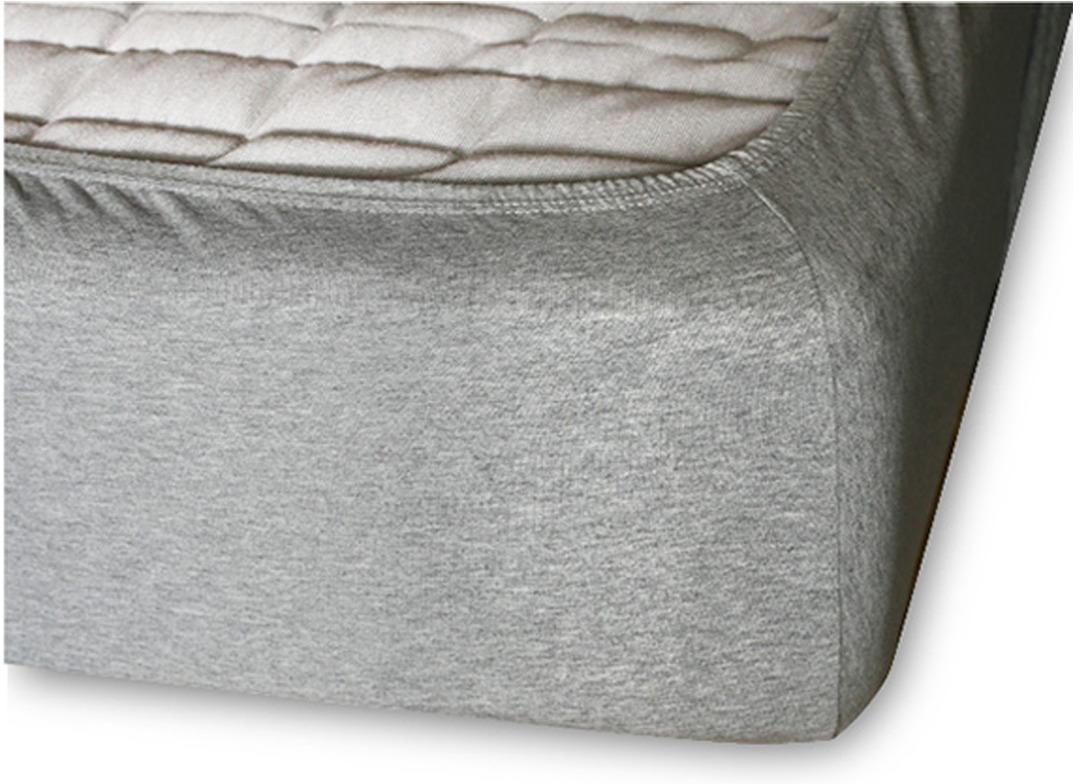 Простыня Cleo на резинке 180x200 серый простыня на резинке cleo 160х200 см cl