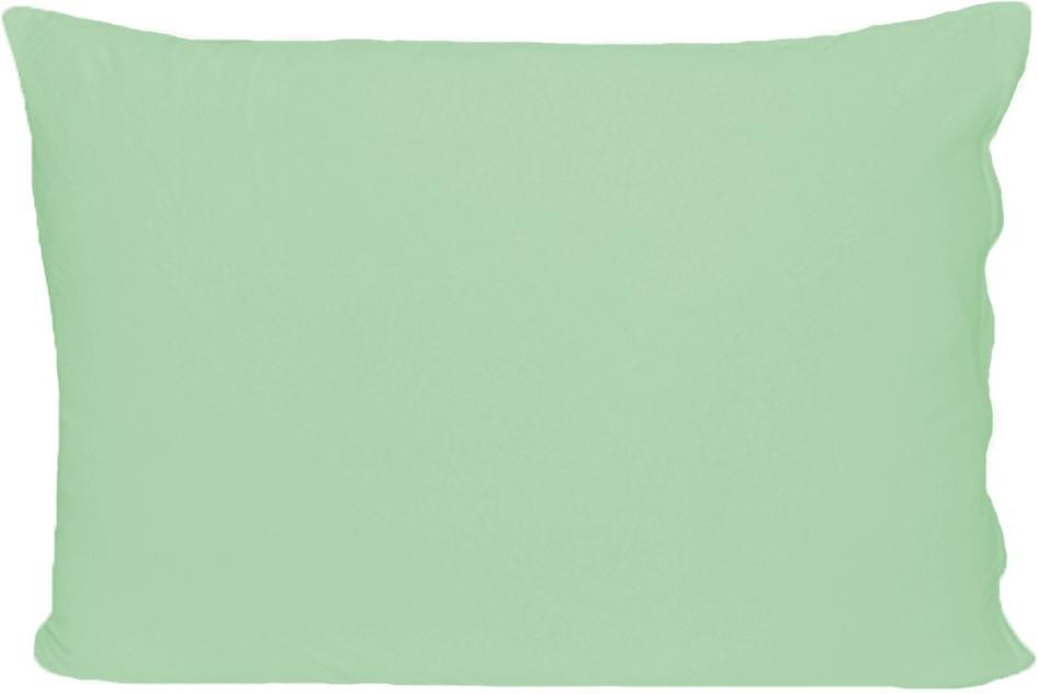 Наволочка Cleo, на молнии, 70/22, светло-зеленый, 70 х 70 см, 2 шт