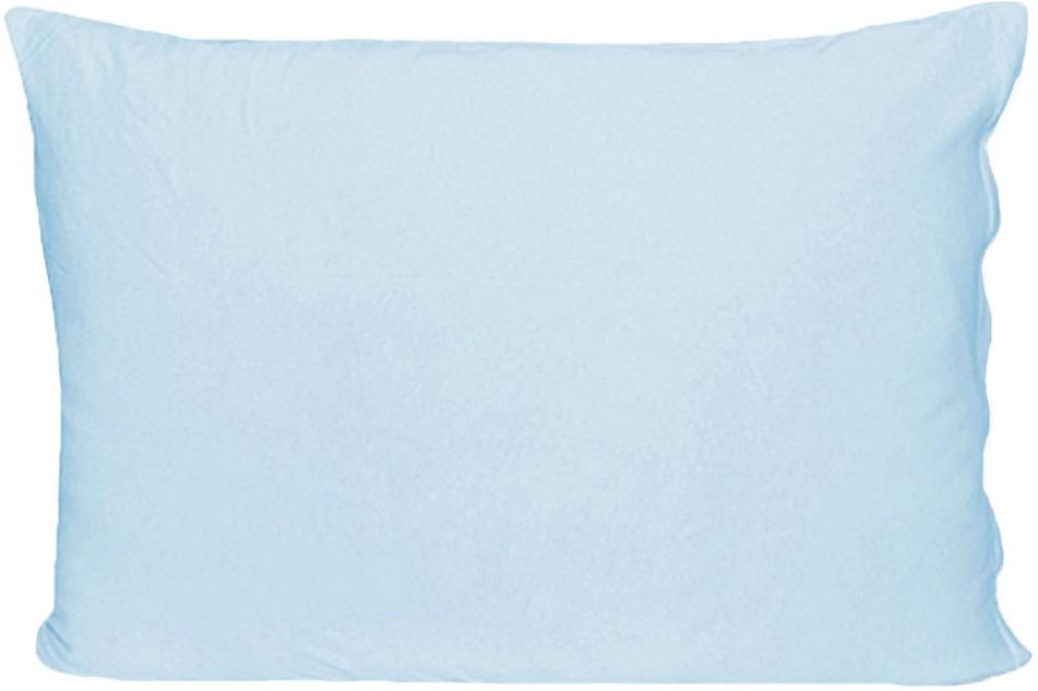 Наволочка Cleo, на молнии, 57/6, голубой, 50 х 70 см, 2 шт