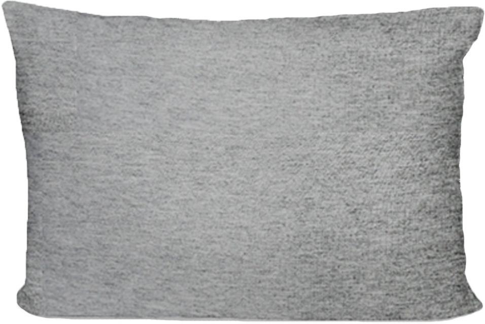 Наволочка Cleo, на молнии, 70/2, серый, 70 х 70 см, 2 шт