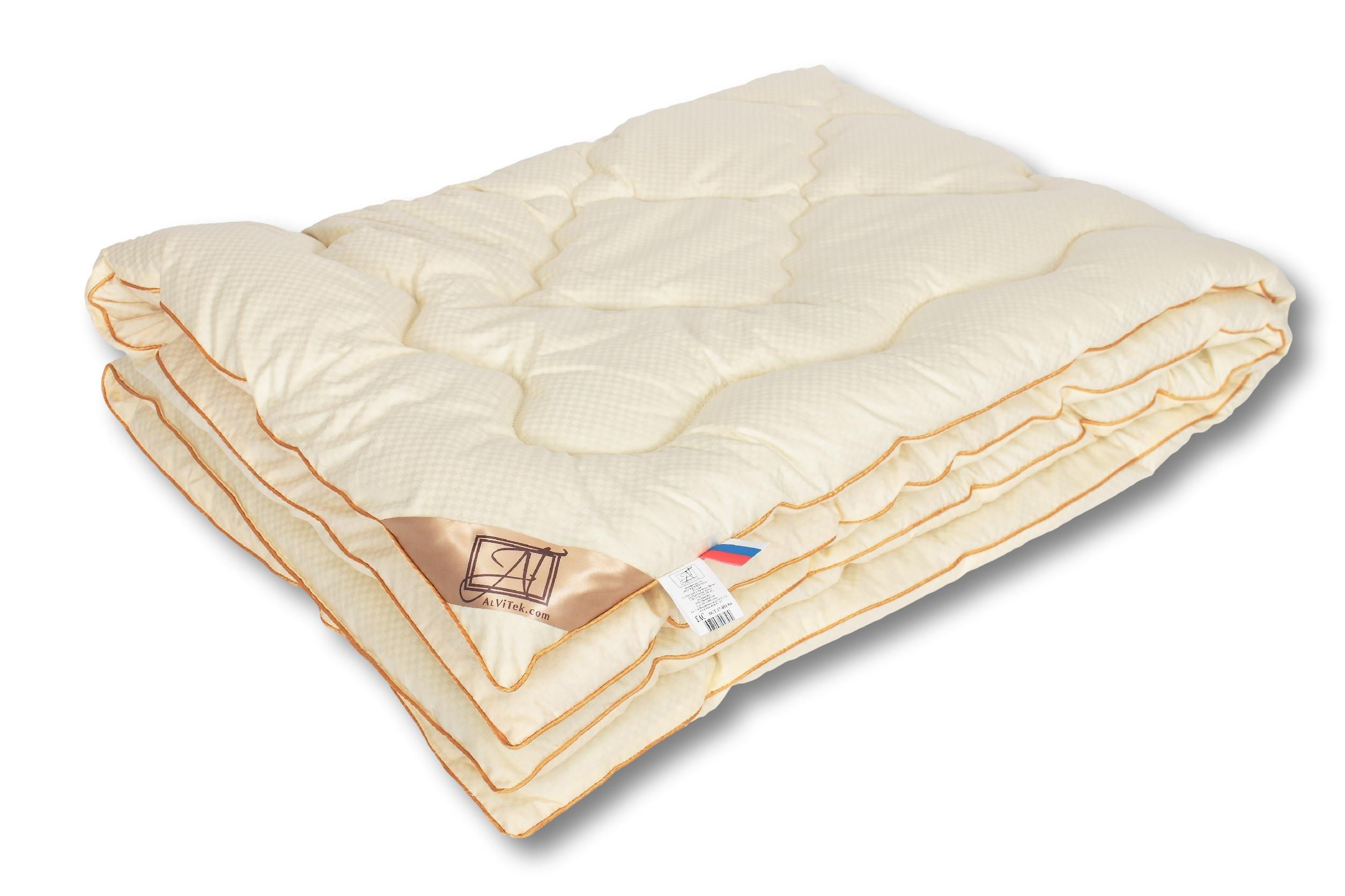 Фото - Одеяло Модерато-Меринос классическое; Альвитек, размер Евро одеяло овечья шерсть классическое альвитек размер 2 0