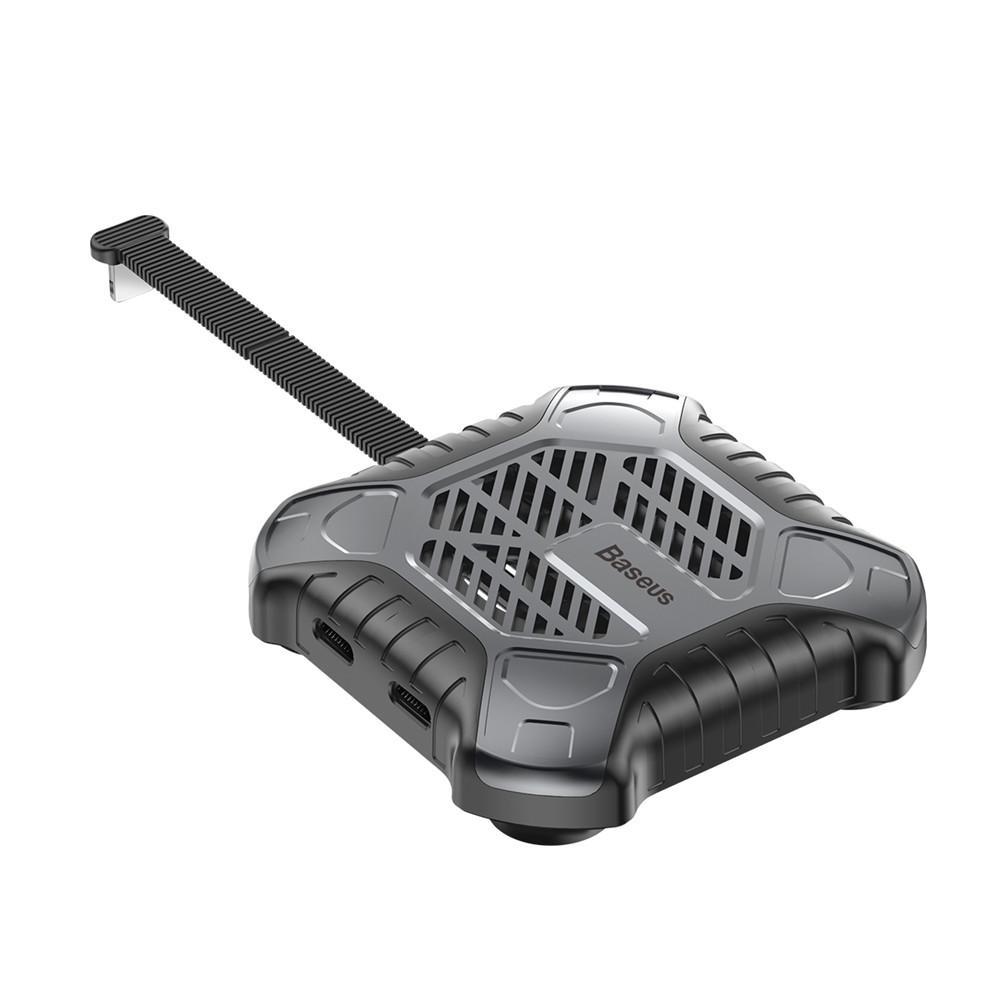 Адаптер-переходник Baseus X-Men Audio Radiator, серый цена