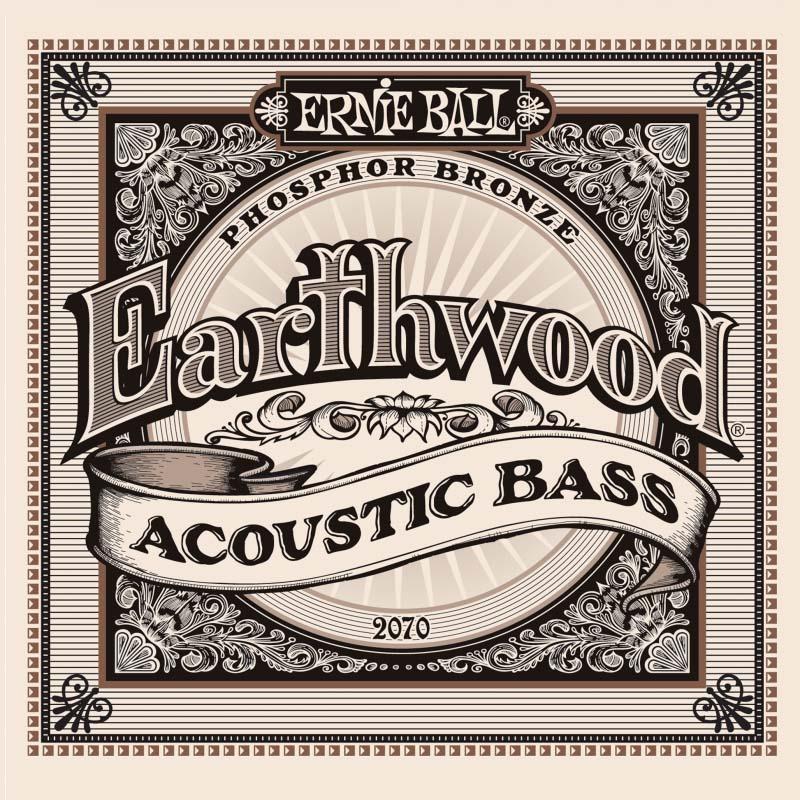 Струны для акустической гитары Ernie Ball Earthwood Phosphor Bronze Acoustic Bass (45-55-80-95), P02070 панель для акустической обработки vicoustic super bass extreme nordik 2 шт